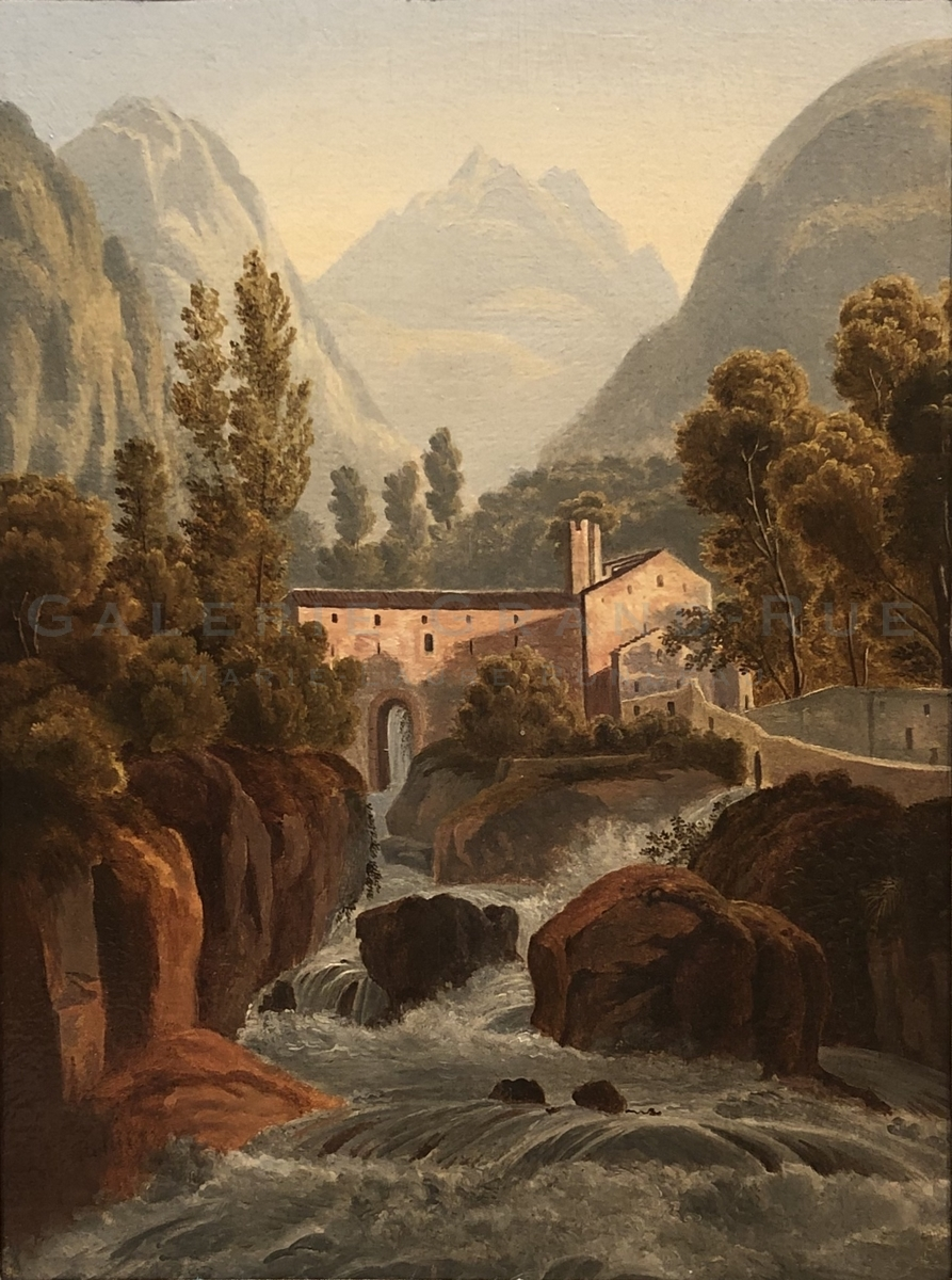 Paysage Suisse italienne